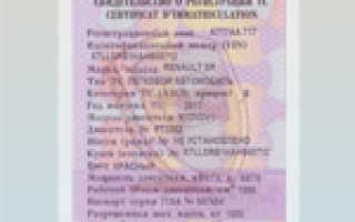 Свидетельство о регистрации ТС: что это и как получить СТС