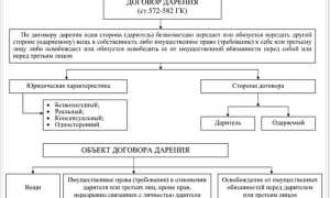 Права и обязанности одаряемого в договоре дарения
