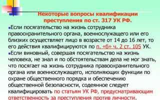 Убийство сотрудника полиции: состав преступления, ответственность по статье 317 УК РФ
