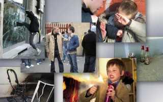 Мелкое хулиганство в КоАП и УК РФ: состав правонарушения и меры ответственности