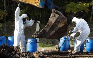 Статья за нарушение правил обращения экологически опасных веществ