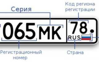 Как поменять номера на машине: процедура оформления