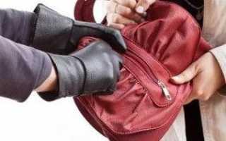 Как наказывают за грабеж по статье 161 УК РФ