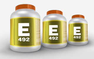 Пищевая добавка Е492 — сорбитан тристеарат. Описание и свойства, область применения, влияние на организм