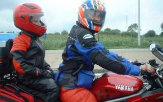 Правила перевозки детей на мотоцикле и штрафы за их нарушение